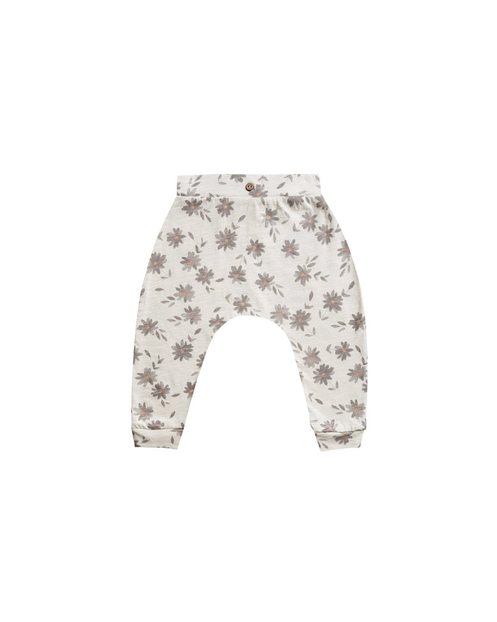 Little rylee + cru baby boy daisies slouch pant