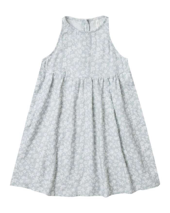 Little rylee + cru girl 6-7 ditsy zoe dress