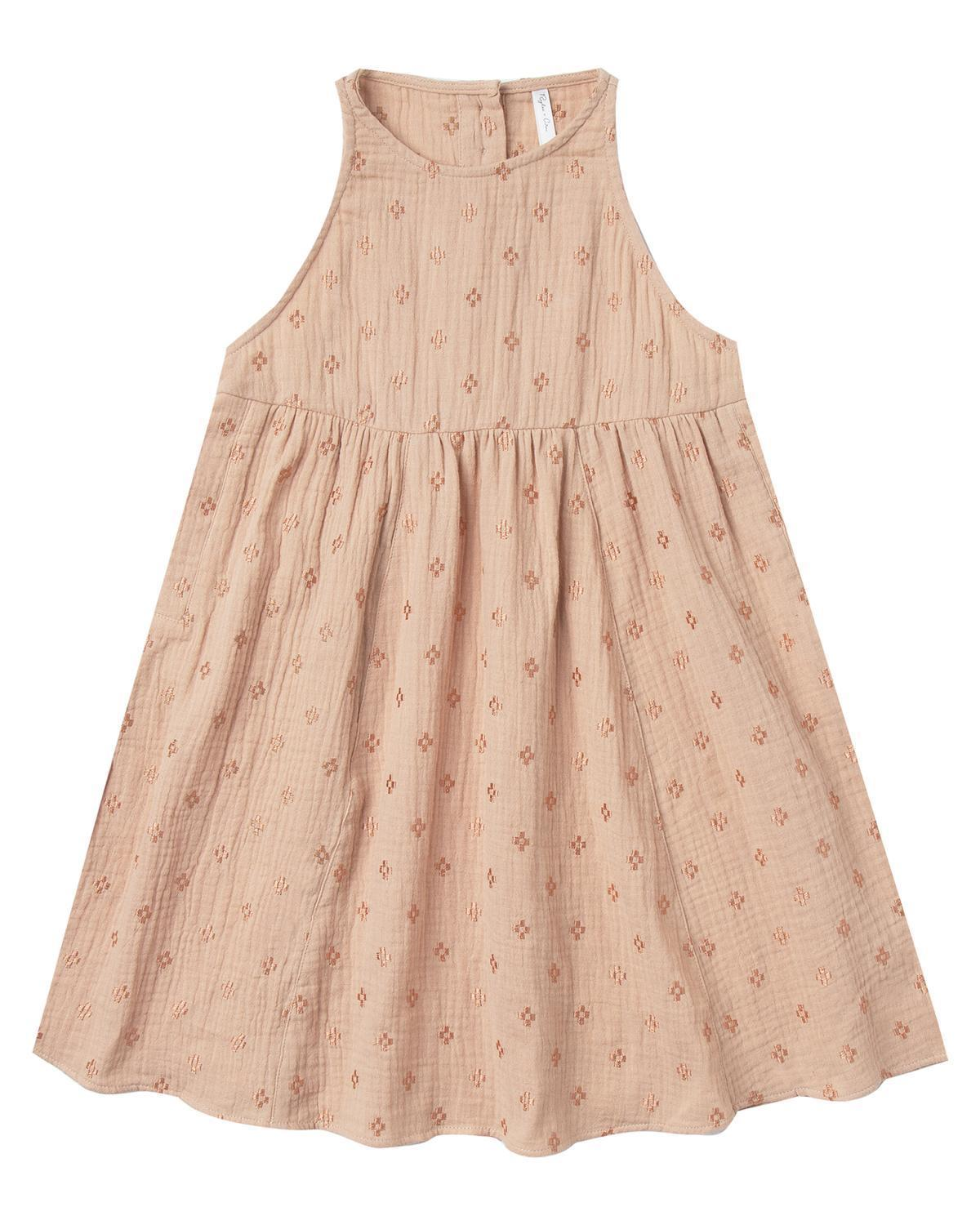 Little rylee + cru girl 2-3 embroidered zoe dress