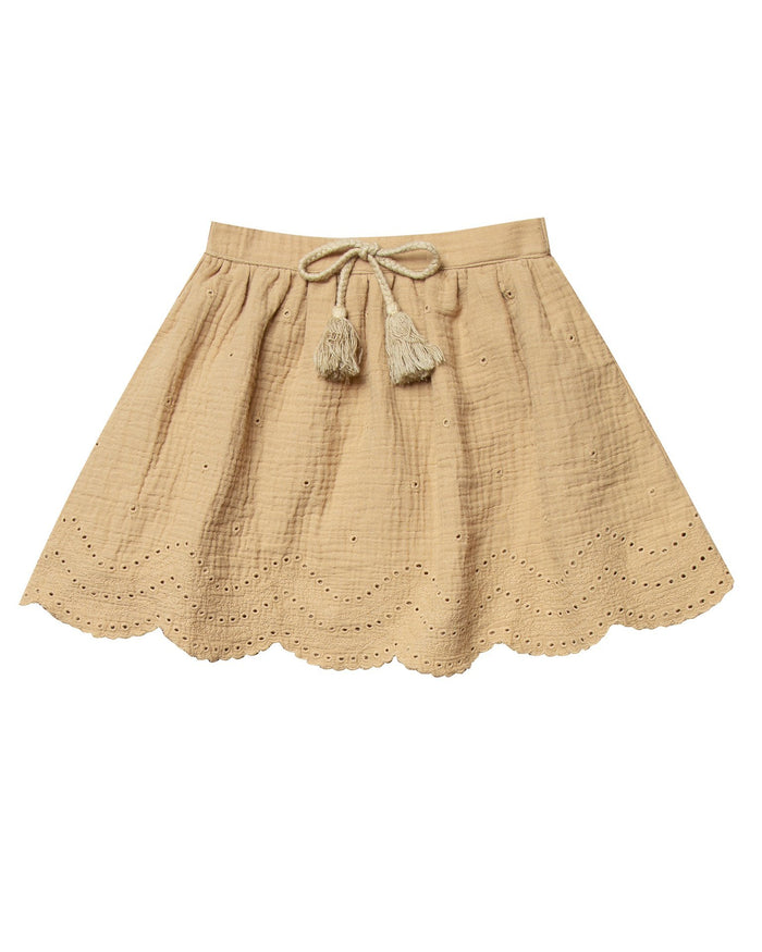 Little rylee + cru girl eyelet mini skirt