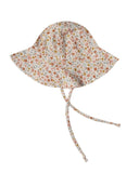 Little rylee + cru baby accessories floppy sun hat in flower field