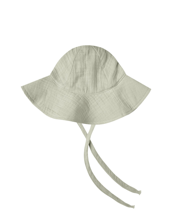 Little rylee + cru baby accessories floppy sunhat in sage