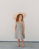 Little rylee + cru girl flora lacy dress in olive