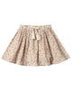 Little rylee + cru girl flower field mini skirt in natural