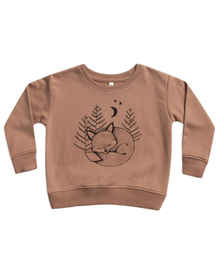 Little rylee + cru boy fox dreams sweatshirt
