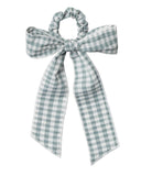 Little rylee + cru accessories hair scarf tie scrunchie in gingham