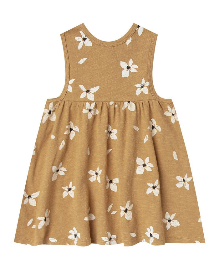 Little rylee + cru girl 0-3 hibiscus layla mini dress