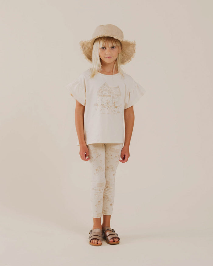 Little rylee + cru girl home sweet home flutter tee