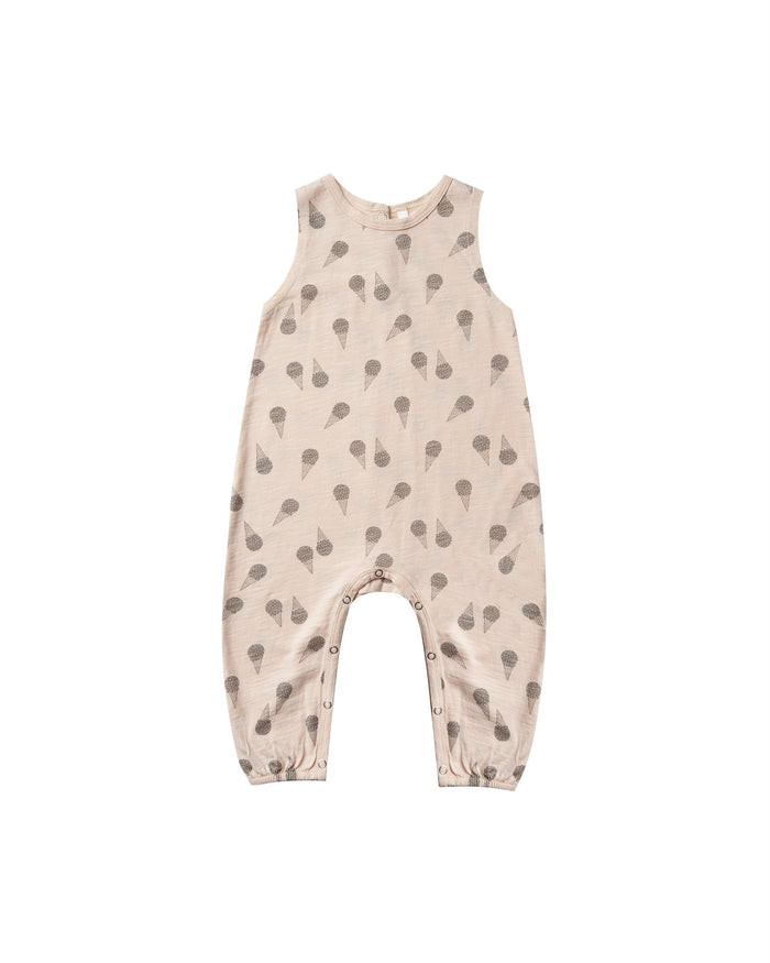 Little rylee + cru baby boy ice cream mills jumpsuit