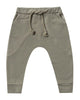 Little rylee + cru baby boy james pant in olive