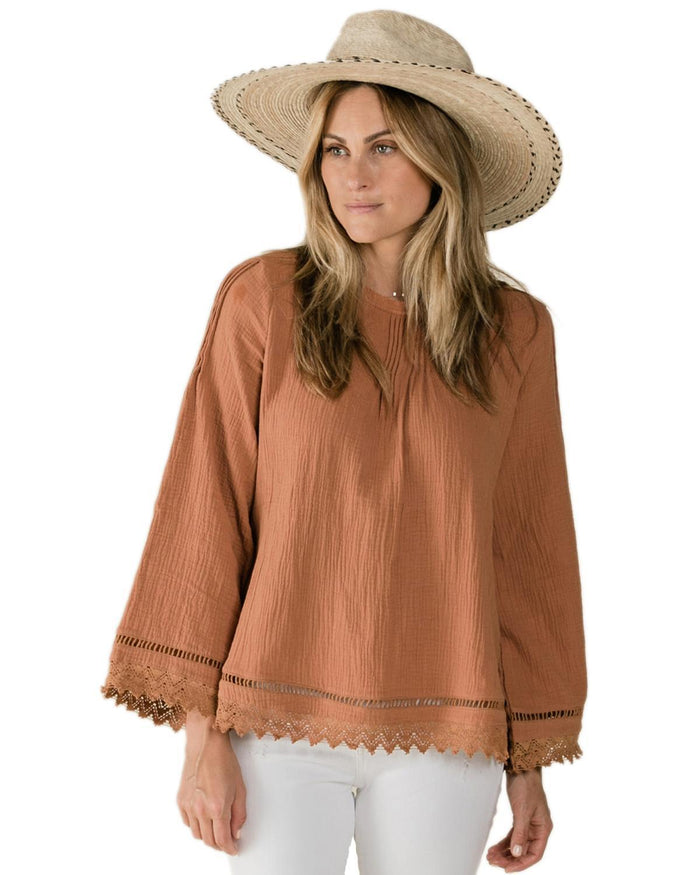 Little rylee + cru women xs kalo blouse