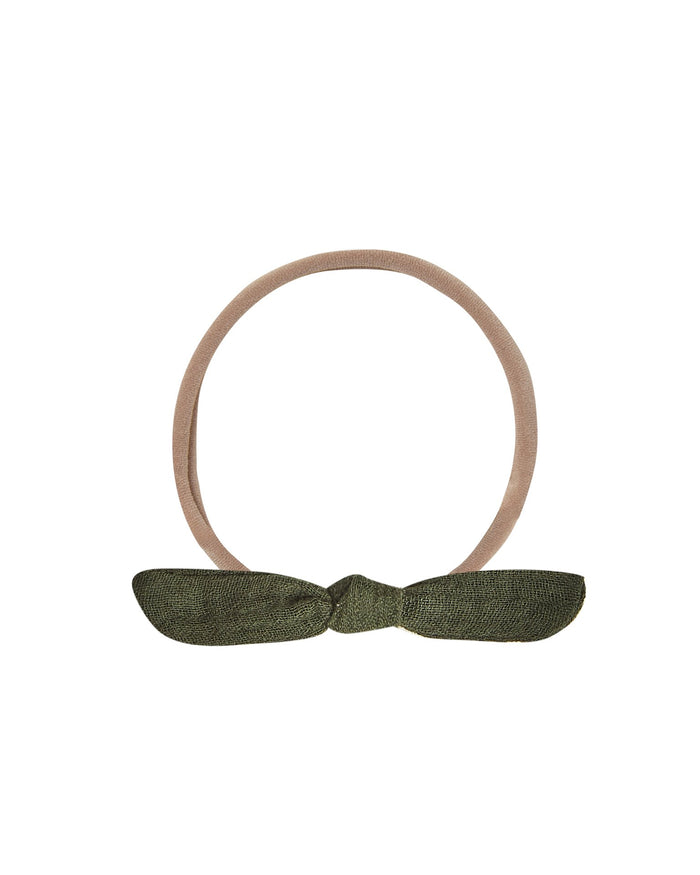 Little rylee + cru accessories one size knot headband in forest