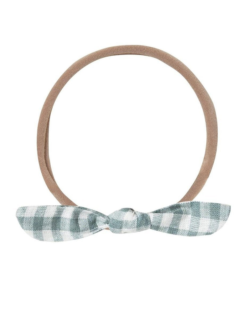 Little rylee + cru accessories little knot headband in gingham