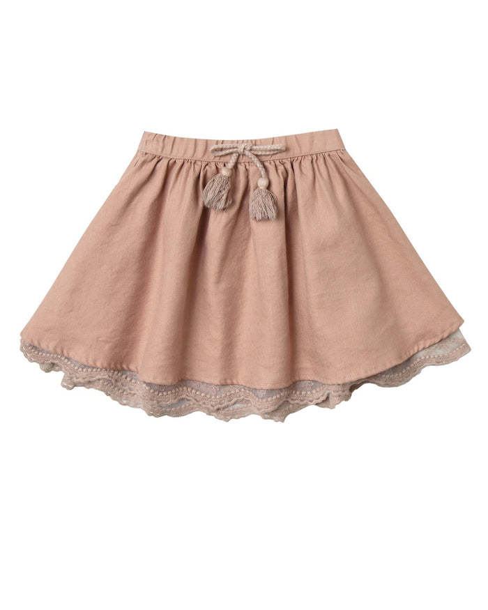 Little rylee + cru girl mini skirt