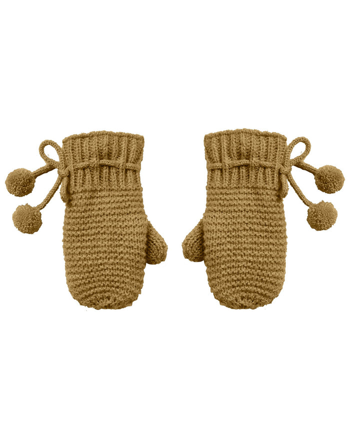 Little rylee + cru accessories mittens in goldenrod