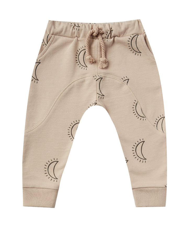 Little rylee + cru baby girl moons james pant in oat