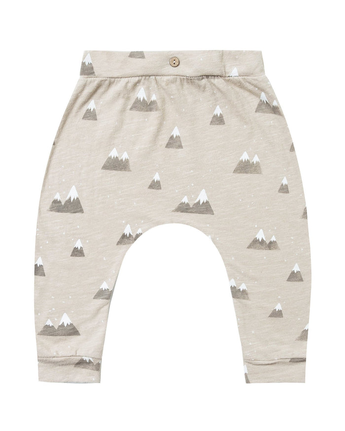 Little rylee + cru baby boy mountains baby slouch pant