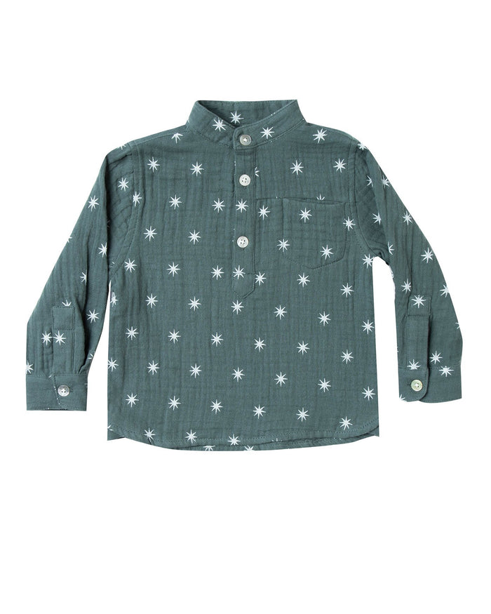 Little rylee + cru boy northern star mason shirt