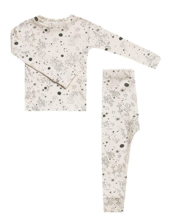 Little rylee + cru girl pajama set in stardust