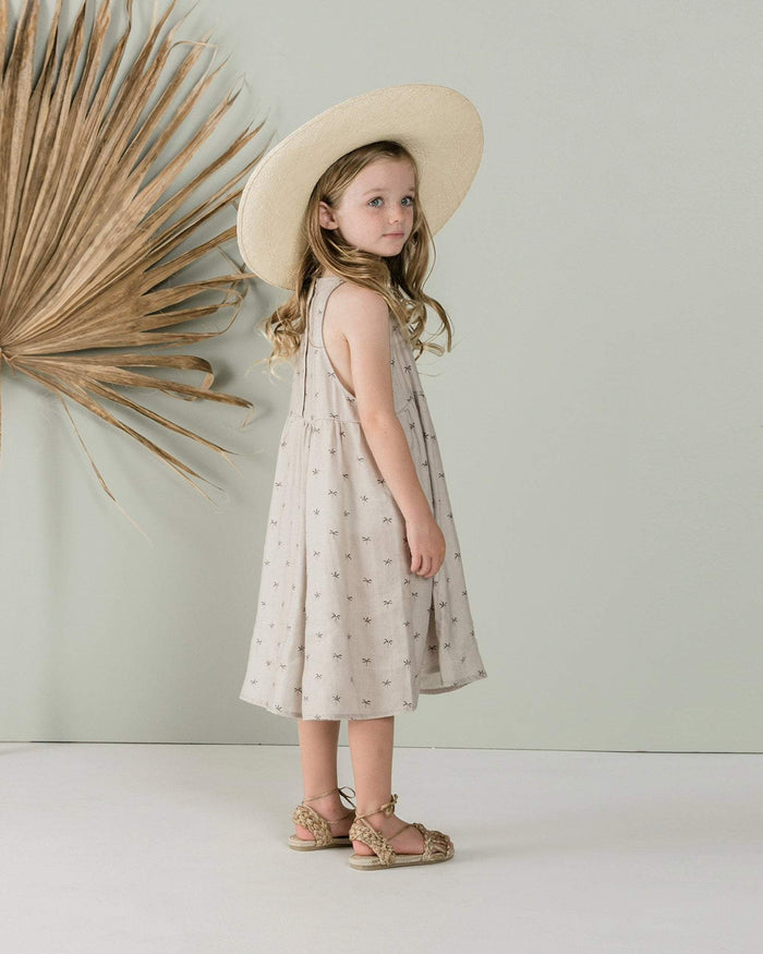 Little rylee + cru girl 2-3 palms zoe dress