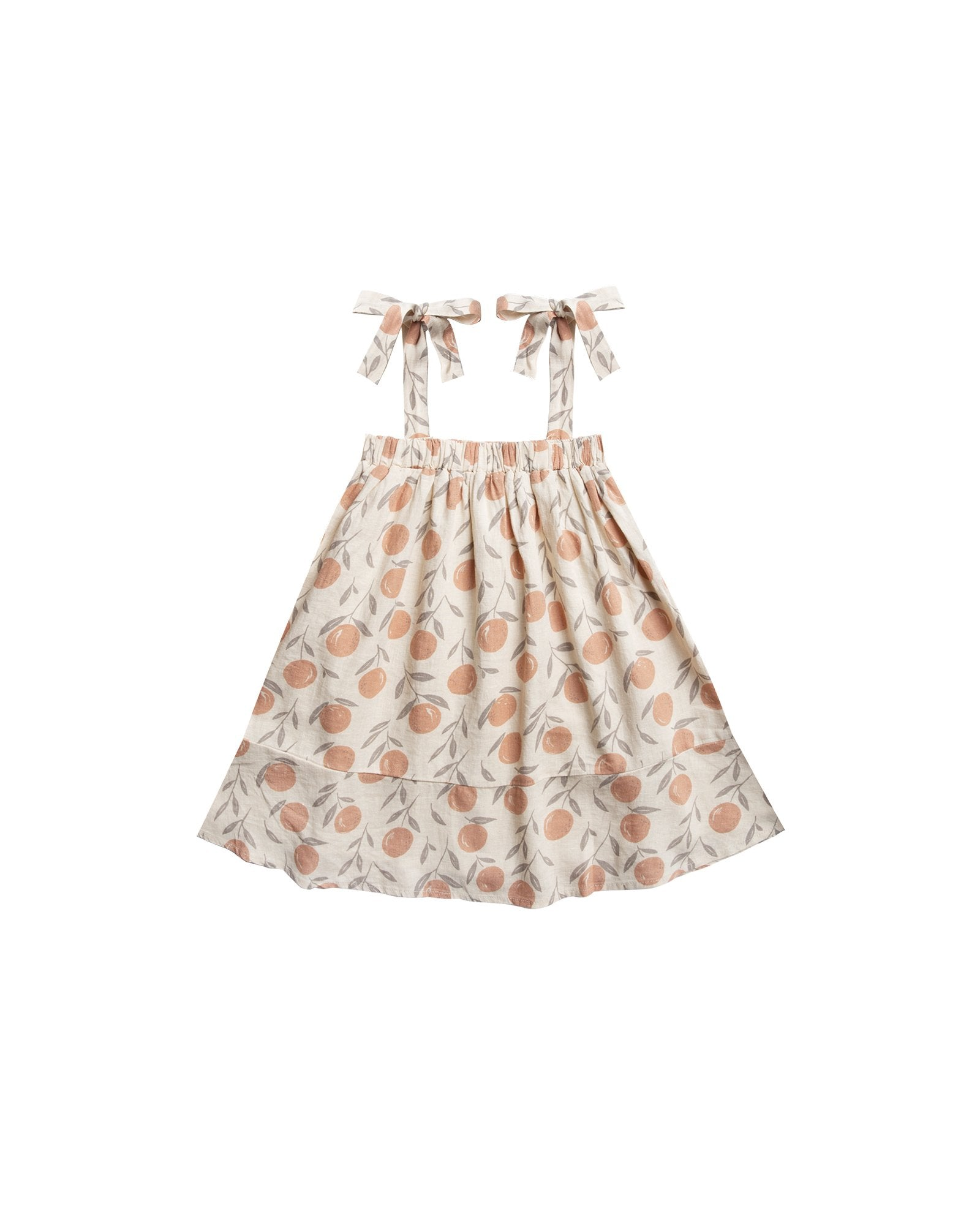 Little rylee + cru girl peaches shoulder tie dress