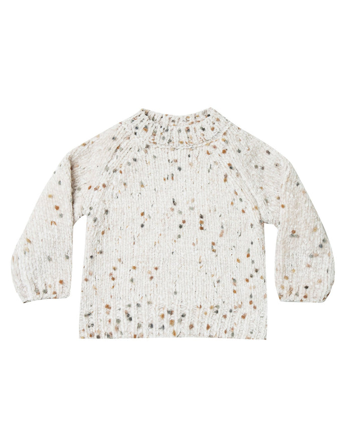Little rylee + cru girl pom chenille sweater