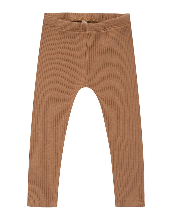 Little rylee + cru girl ribbed legging in caramel