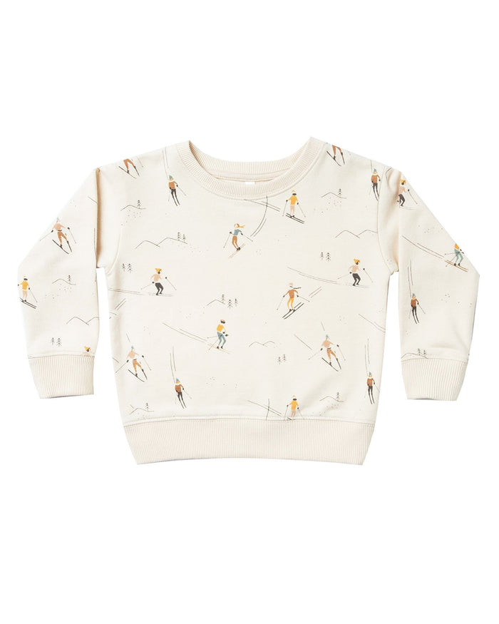 Little rylee + cru boy ski sweatshirt