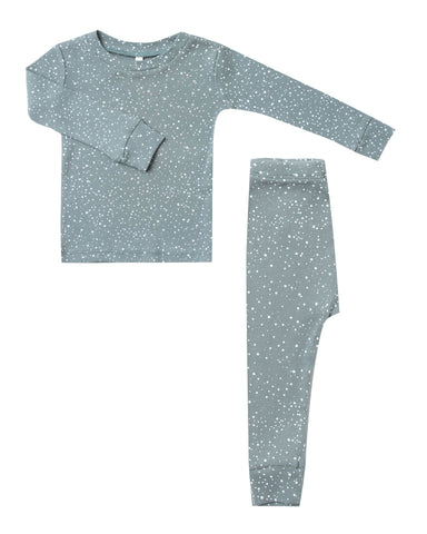 Little rylee + cru boy snow pajama set