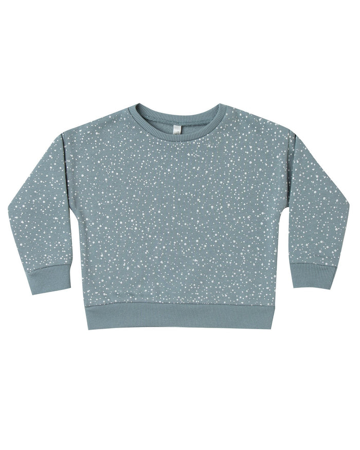 Little rylee + cru boy snow relaxed sweatshirt