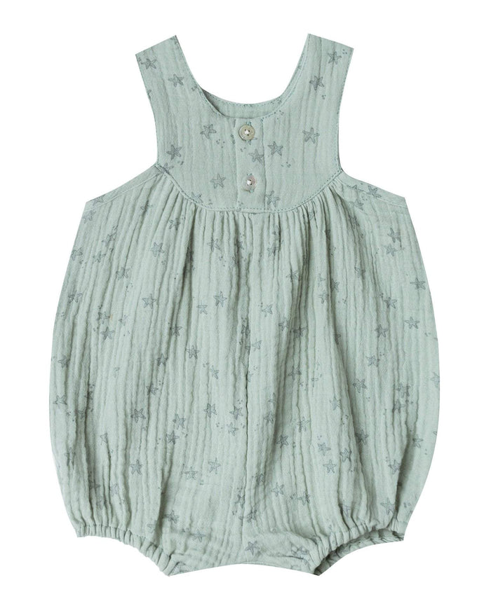 Little rylee + cru baby girl 0-3 starfish june romper