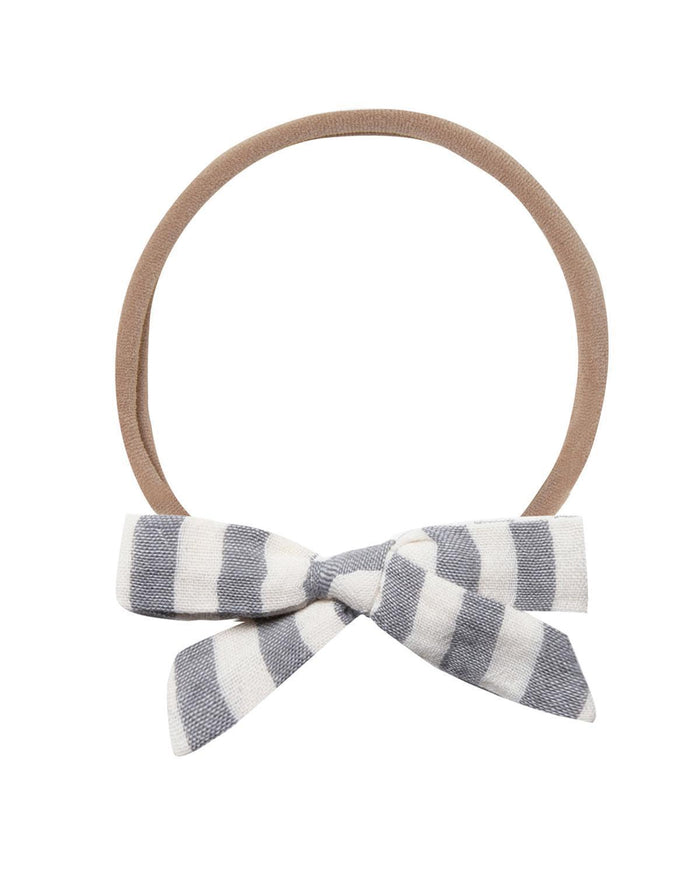 Little rylee + cru accessories storm stripe bow headband
