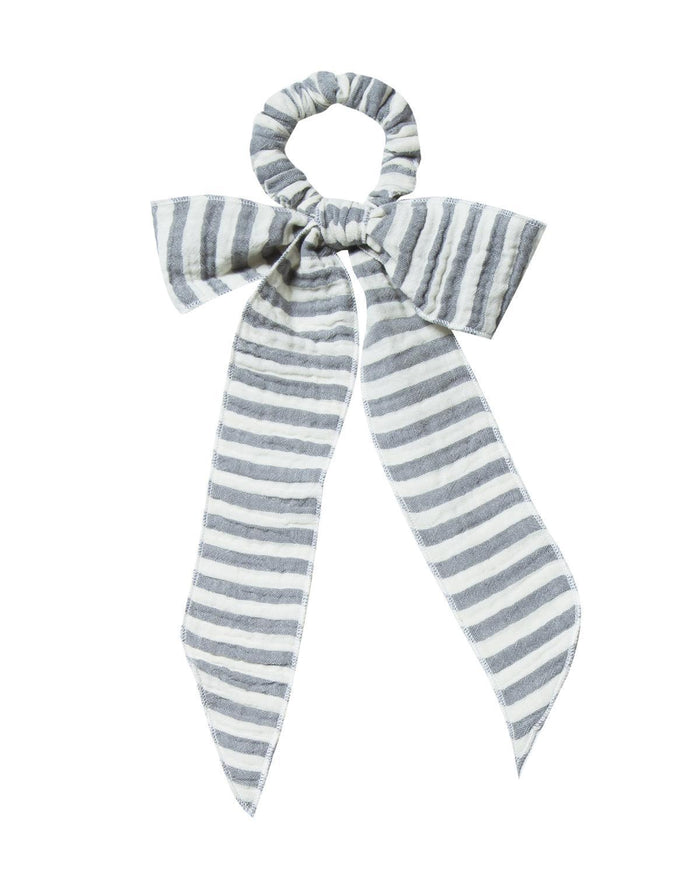 Little rylee + cru accessories storm stripe hair scarf tie