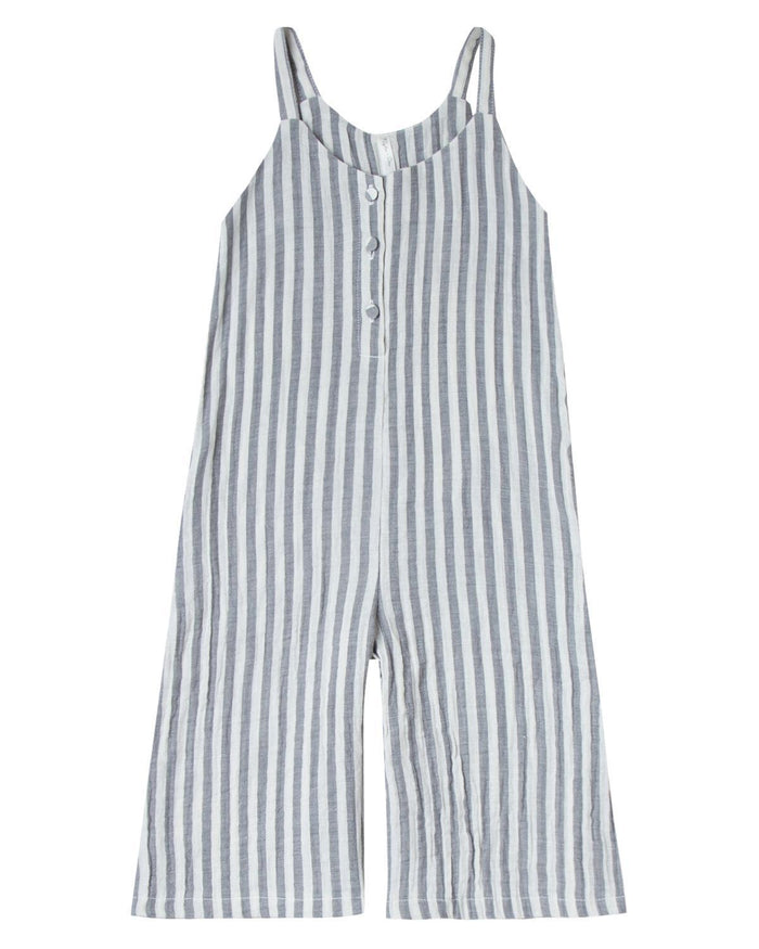 Little rylee + cru girl 2-3 stripe bridgette jumpsuit