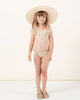 Little rylee + cru girl stripe marieta bikini in carnival