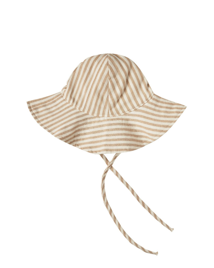 Little rylee + cru baby accessories striped floppy hat