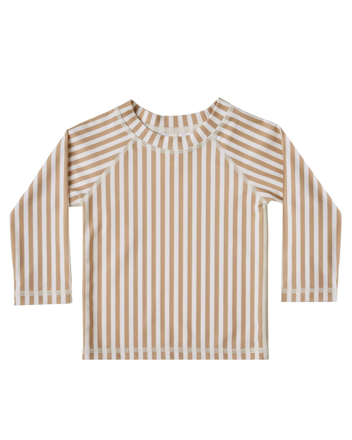 Little rylee + cru boy striped rashguard