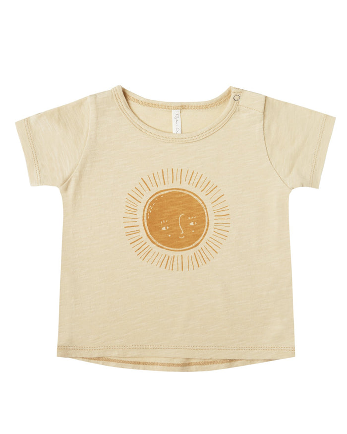 Little rylee + cru girl sun basic tee
