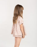 Little rylee + cru girl sunburst jane blouse in lilac
