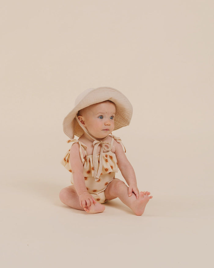 Little rylee + cru girl suns tie ruffle one-piece