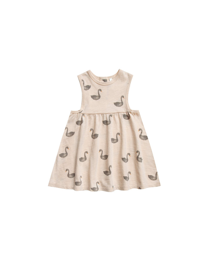 Little rylee + cru girl swans layla dress