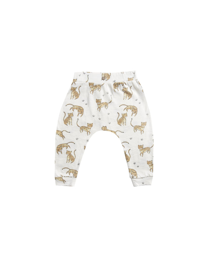 Little rylee + cru baby boy tigers slouch pant