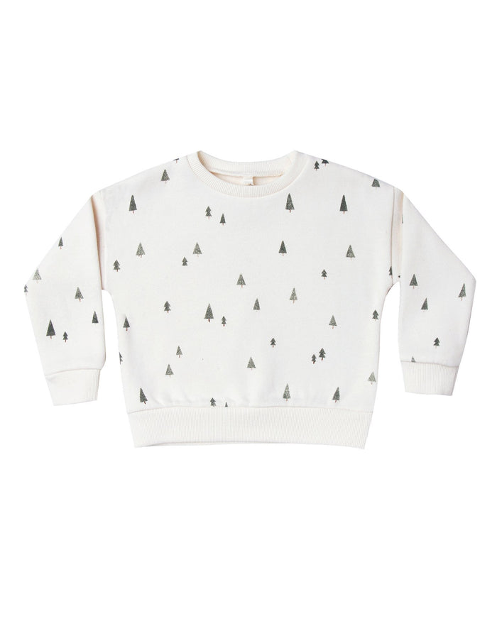 Little rylee + cru boy trees relaxed sweatshirt