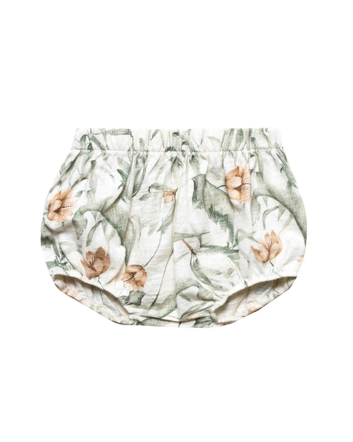 Little rylee + cru baby girl 0-3 tropical bloomers
