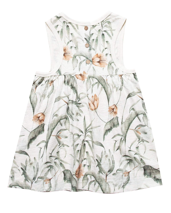 Little rylee + cru girl 0-3 tropical layla mini dress