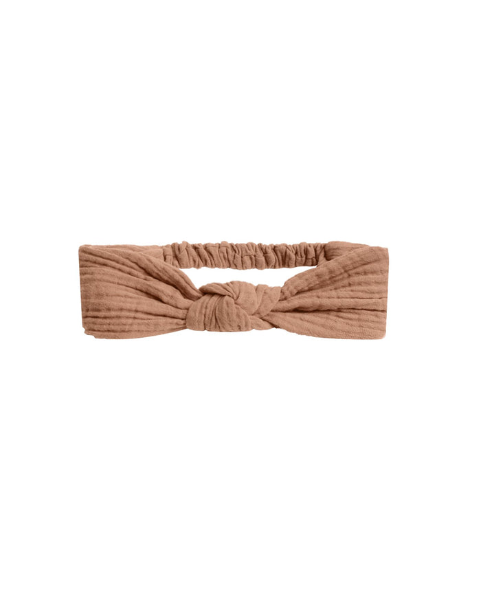 Little rylee + cru accessories turban in terracotta