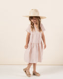 Little rylee + cru baby girl vienna dress in lilac