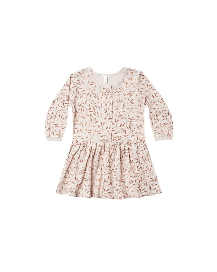 Little rylee + cru baby girl vines baby button up dress
