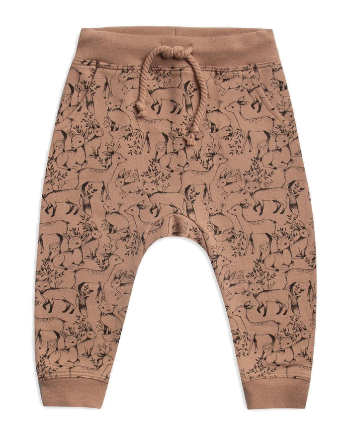 Little rylee + cru baby boy woodland baby sweatpant