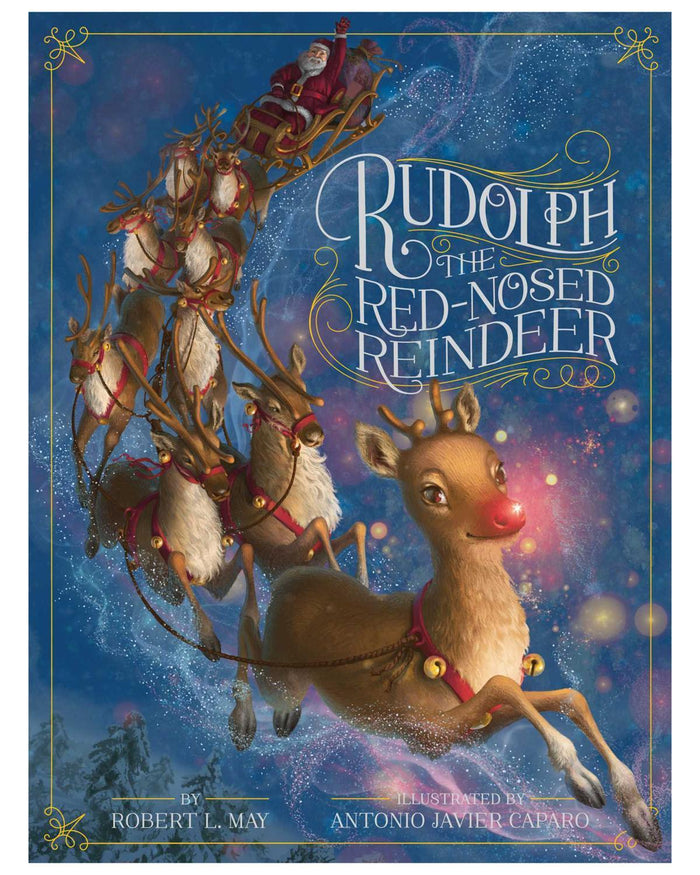 Little simon + schuster play Rudolph the Red-Nosed Reindeer